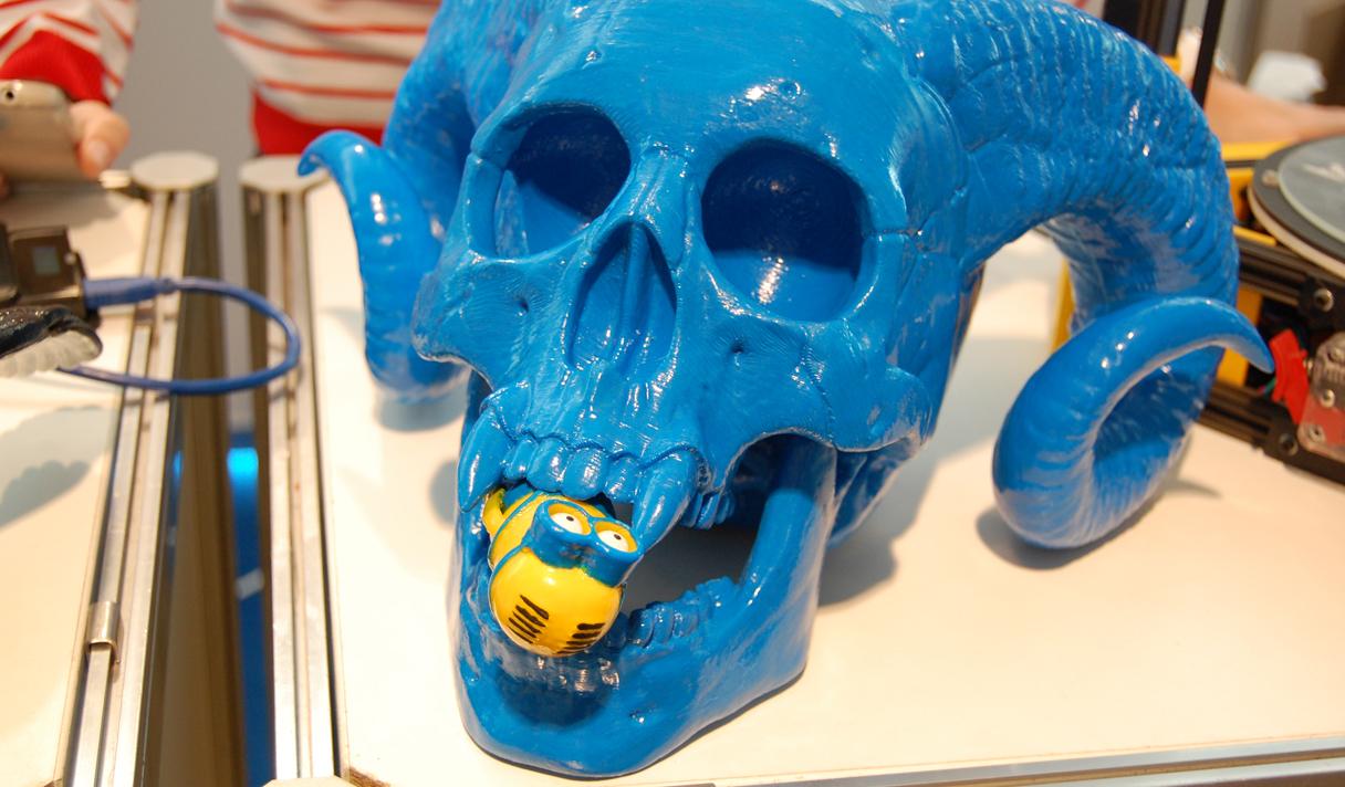 Фоторепортаж с киевской выставки 3D принтеров