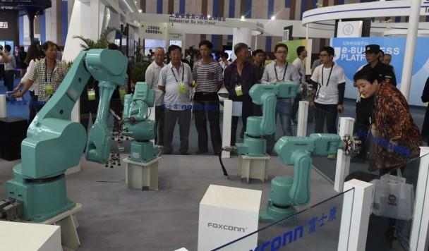 В Китае происходит революция роботов