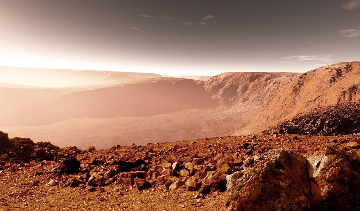 Что означает вода на Марсе?