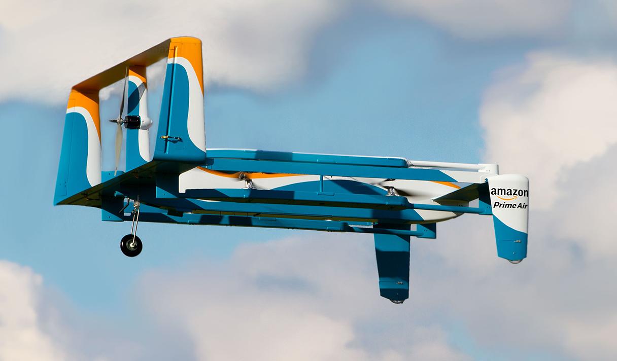 Гибридный дрон Amazon и еще 5 новостей из мира IT, которые нужно знать сегодня