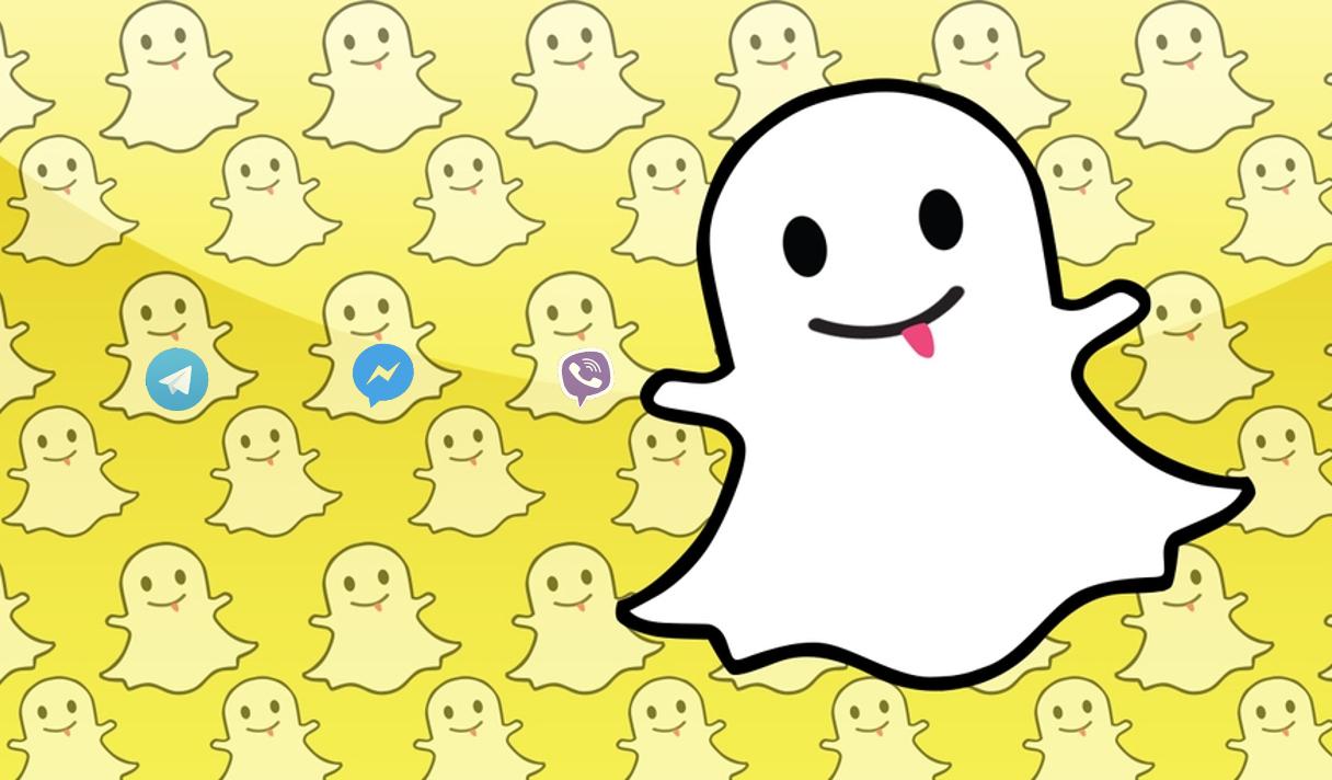 «Атака клонов» Snapchat: самоуничтожающиеся сообщения – новый тренд