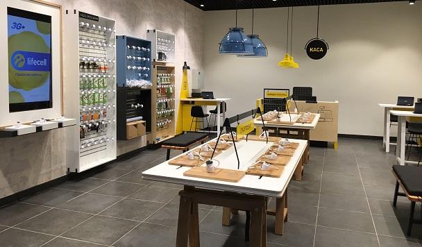 Lifecell проведет ребрендинг 300 магазинов