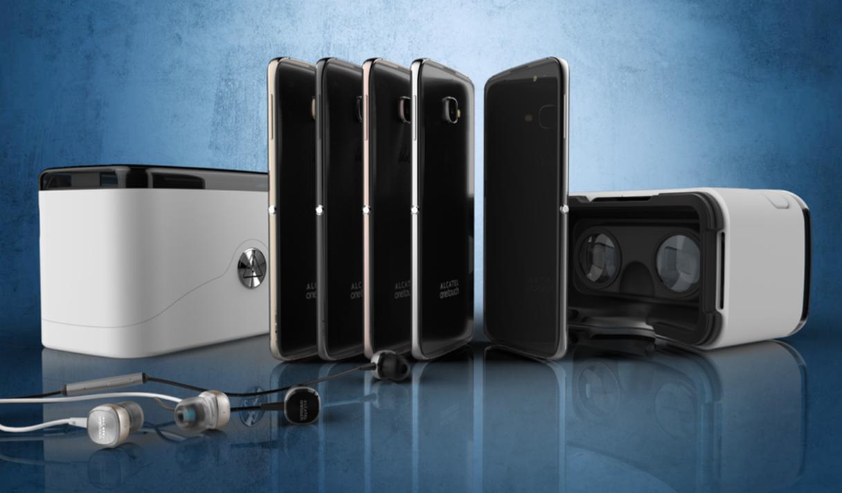 Флагманский смартфон Alcatel будет комплектоваться шлемом виртуальной реальности