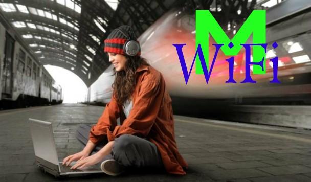 Где лучше всего ловит WiFi в Киевском метро?