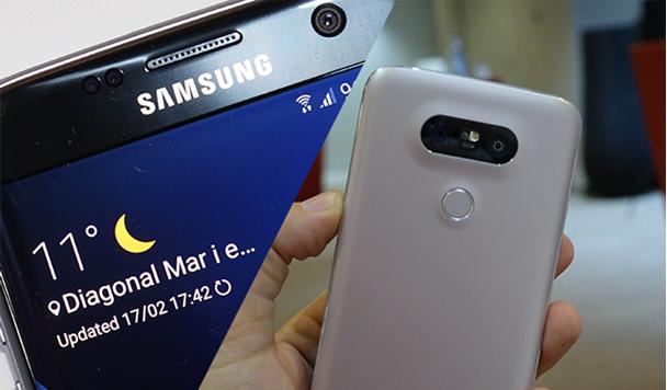 Сравнение Samsung Galaxy S7 и LG G5: битва лучших
