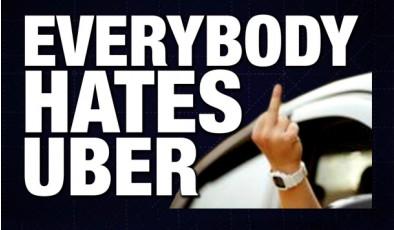 Почему Uber собирает сотни тысяч гневных отзывов