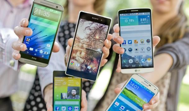 Топ-5 смартфонов, представленных в феврале