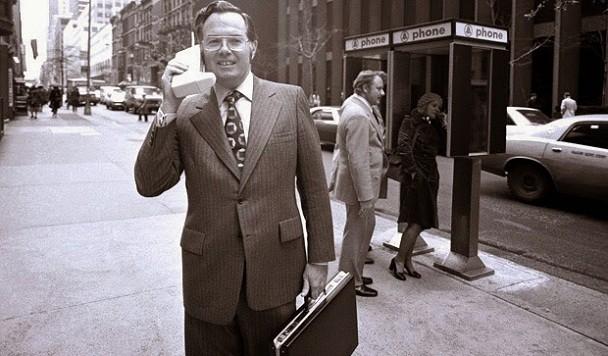 Первый в истории звонок с сотового телефона. Как это было
