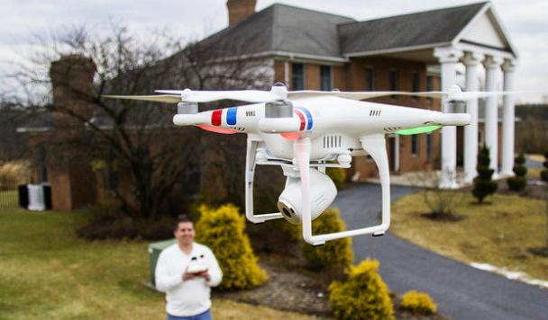Новый тренд: дроны помогают определиться с недвижимостью