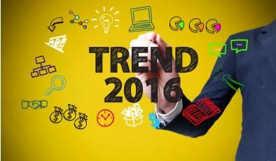 Топ-5 цифровых трендов 2016 года (Инфографика)