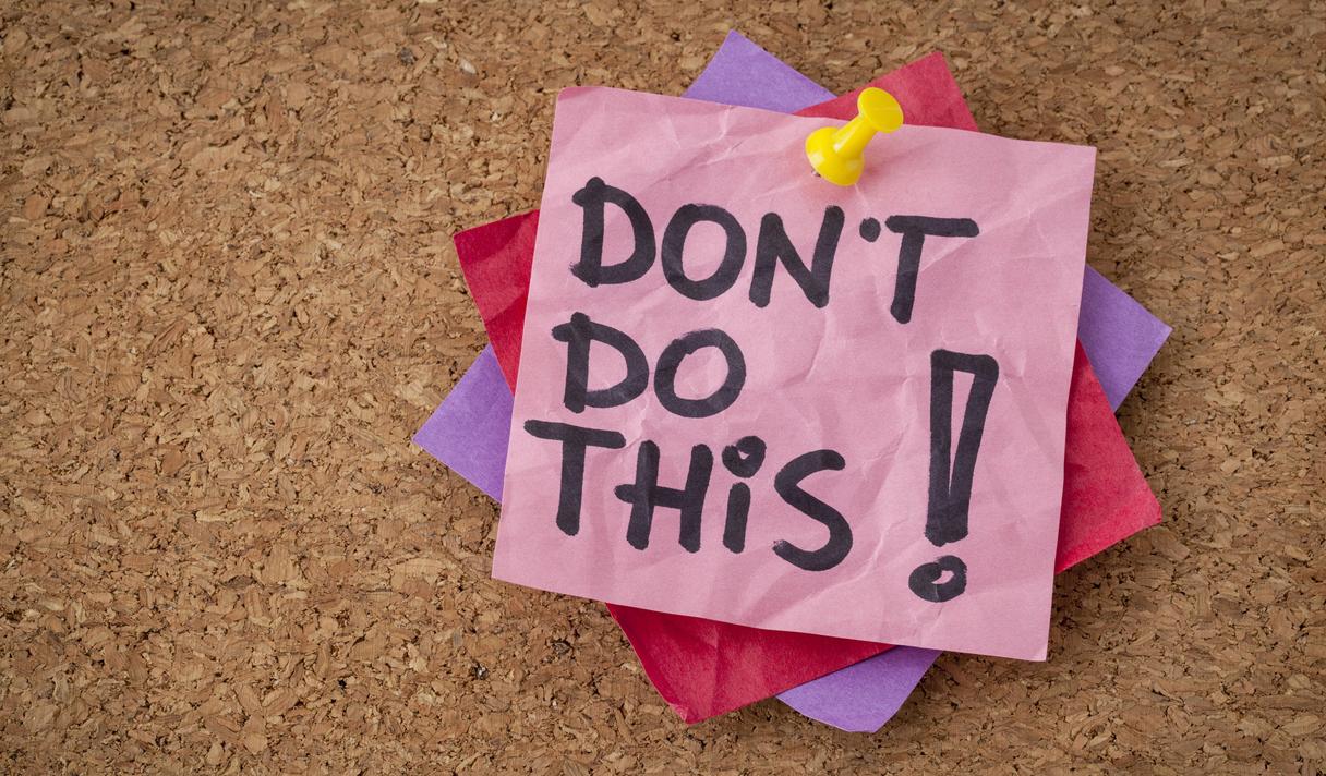 Вредные советы для начинающего бизнесмена
