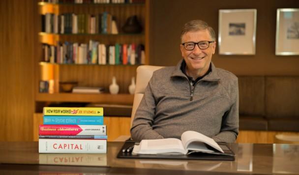 5 книг, которые Билл Гейтс рекомендует прочитать этим летом