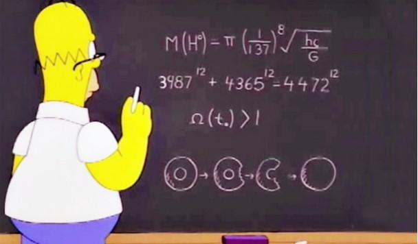 Математические тайны «Симпсонов»