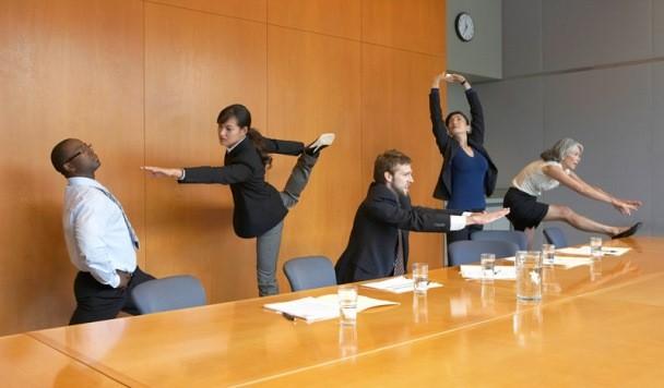 Йога на рабочем месте: теперь об упражнениях