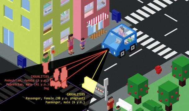 Водители выбирают автономные машины, которые способны убивать пешеходов