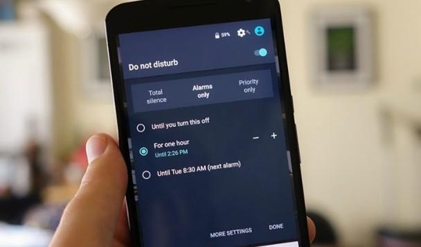 Режим «Не беспокоить» для Android: инструкция по применению