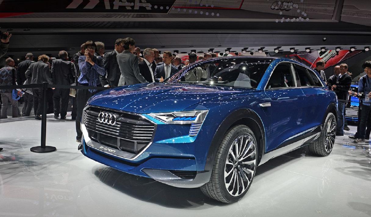 Электромобиль Audi, призванный сместить Tesla Motors с пьедестала