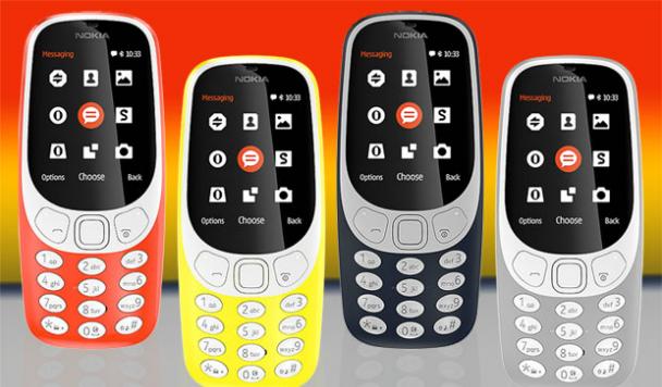 Какой будет новая Nokia 3310