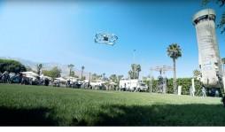 Amazon протестировал доставку дроном в общественном месте