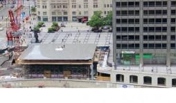 Apple сделал крышу нового магазина в Чикаго в виде гигантского MacBook Air