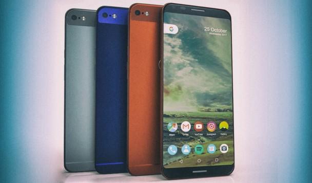 Каким может быть новый смартфон Google Pixel 2