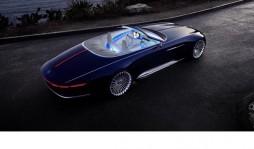 Mercedes представил концепт роскошного электромобиля Mercedes-Maybach 6 Cabriolet