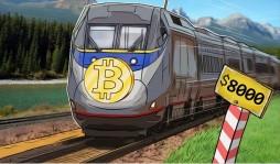 Курс Bitcoin пробил планку в $8000