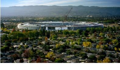 Строительство Apple Park подходит к концу