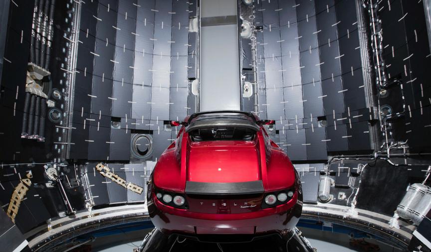 Через неделю ракета Илона Маска полетит на Марс