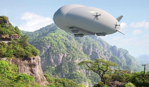 Современные технологии вернут в небо дирижабли