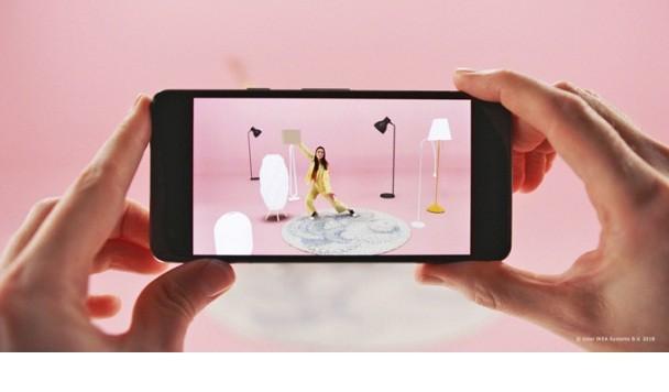 IKEA выпустила сервис для подбора мебели в дополненной реальности при помощи смартфона