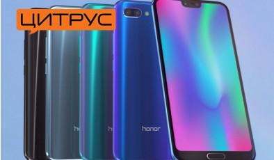 Honor 10 – смартфон ТОП-класса по приемлемой цене