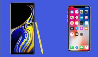 Samsung Galaxy Note 9 против Apple iPhone X. Какой флагман лучше?