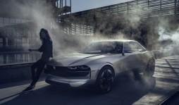 Peugeot  представила концепт электромобиля в стиле старых маслкаров