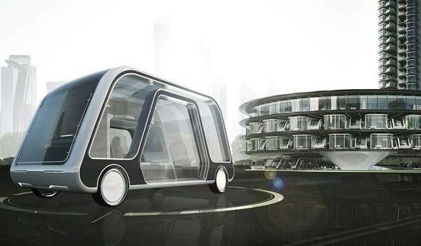 Американская студия дизайна показала свое видение будущего гостиничных номеров на колесах