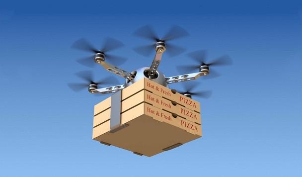 Uber собирается начать доставку еды дронами в 2021 года