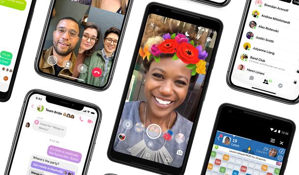 Facebook проведет масштабный редизайн Messenger