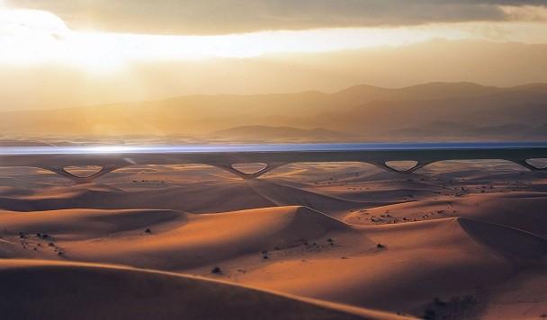 Строительство коммерческого Hyperloop в Абу-Даби начнется уже в следующем году