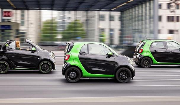 Половина электромобилей в мире приходится всего на 25 городов
