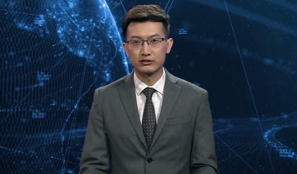 Киберпанк наступает: В Китае начал работу первый виртуальный телеведущий