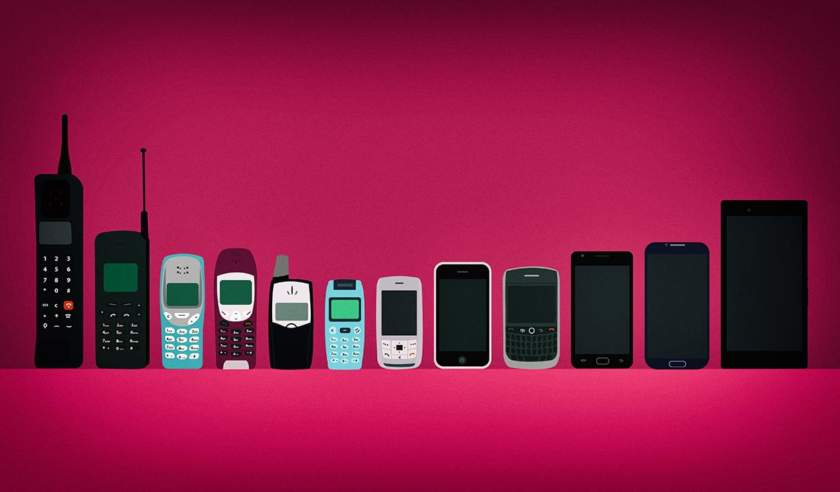 Как эволюционировали мобильные телефоны