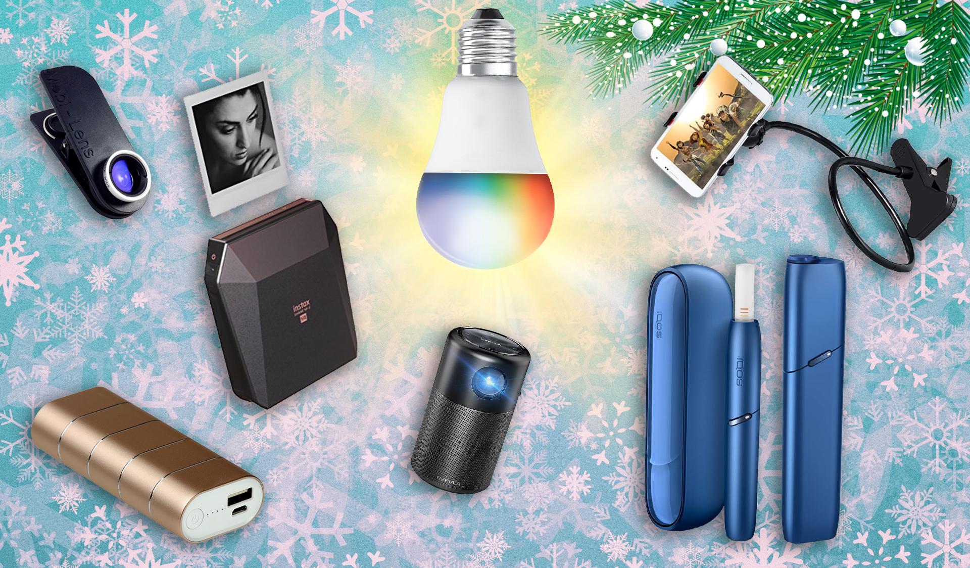 7 небанальных гаджетов и аксессуаров в подарок к Новому году