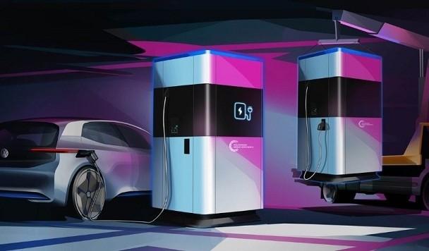 Volkswagen представила концепт Power Bank для электромобилей