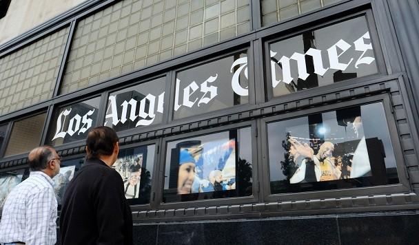 Масштабная кибератака парализовала работу типографии Los Angeles Time
