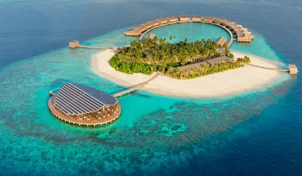 Как выглядит идеальный технологичный курорт на Мальдивах