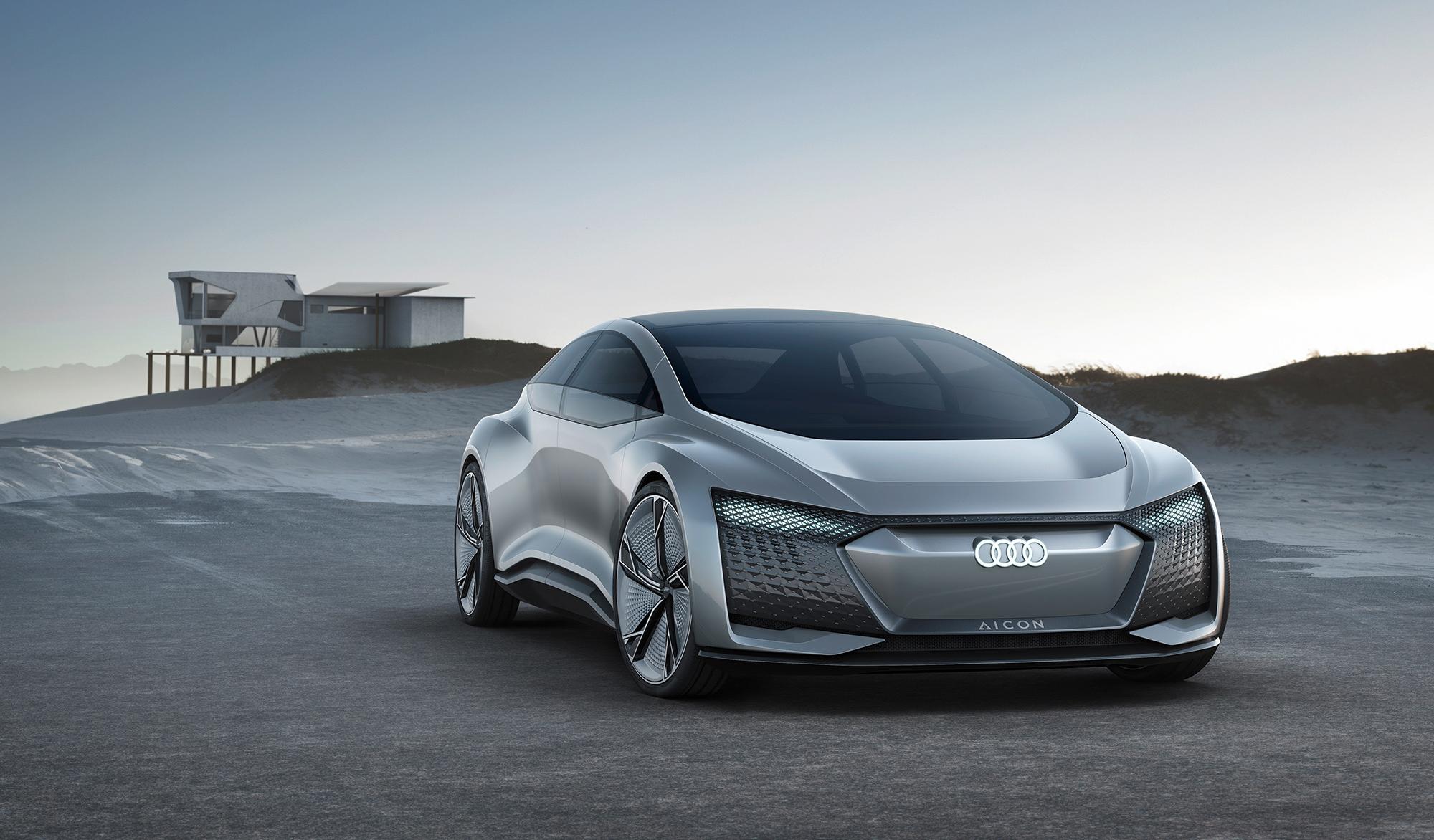 Самые необычные автомобильные концепты выставки CES 2019