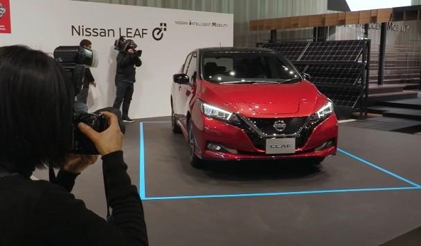 Nissan анонсировал новую версию Leaf
