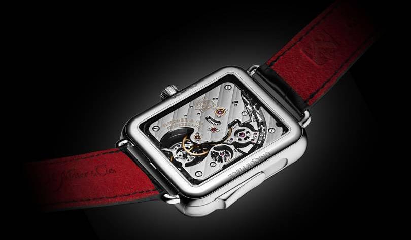 Швейцарцы создали минималистичную пародию на Apple Watch