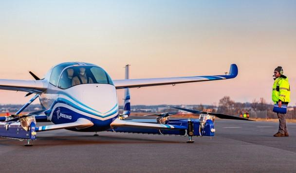 Летающее такси Boeing совершило первый полет