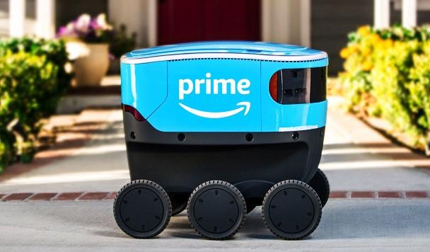 Amazon начал доставлять товары «до двери» с помощью роботов
